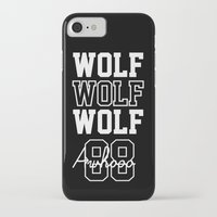 exo iPhone & iPod Cases featuring EXO  Wolf by Sara Eshak