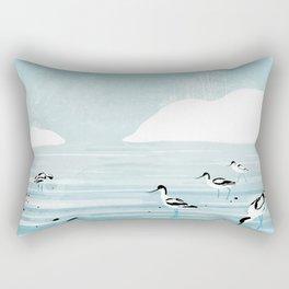 Avocets Rectangular Pillow