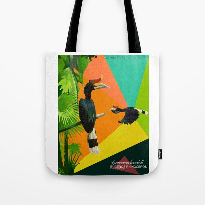 bucheros rhinoceros Tote Bag