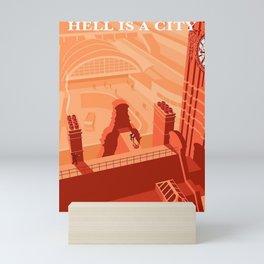 Hell is a city, Manchester Mini Art Print