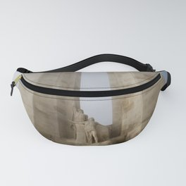 Towers in the mist Fanny Pack