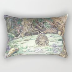 RHX Forest Logo Rectangular Pillow