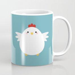 White Chicken Coffee Mug