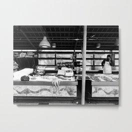 Vendere - Pesce - Selling fish Metal Print