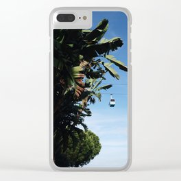 Into Paradise Clear iPhone Case