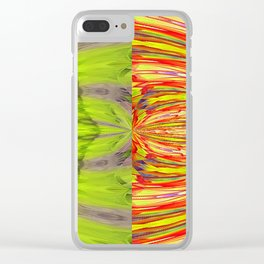 Nuclear Cell Spindle Pattern Clear iPhone Case