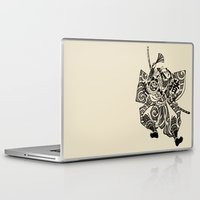 samurai Laptop & iPad Skins featuring Samurai by Scalifornian