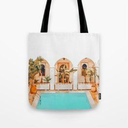Turkish Holiday #painting #travel Tote Bag