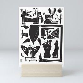 Cryptids Mini Art Print