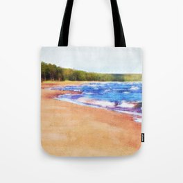 Colors of Water Tote Bag