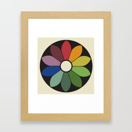 James Ward's Chromatic Circle Framed Art Print