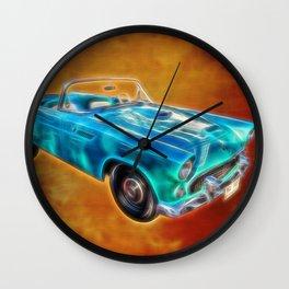 Ford Thunderbird Wall Clock