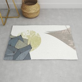 The Rock of Humanity Rug