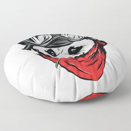 Cool Panda Design Floor Pillow