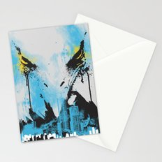 Eagle Eye Watching - Blue Stationery Cards