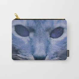 Space Cat's Eye Carry-All Pouch