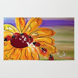 Ladybug Follow the Leader Rug