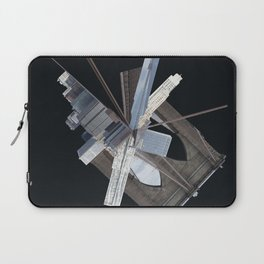 Brooklyn Bridge Gone Wild in Spacetime Laptop Sleeve