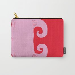 goat very angry (pink) Carry-All Pouch