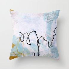 lines & texture 2 Throw Pillow