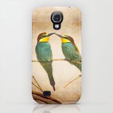Love time. Bee-eaters Galaxy S4 Slim Case