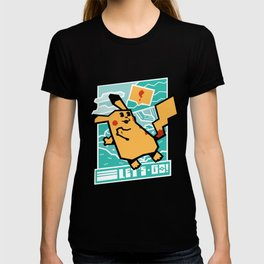 Let's Go Electric Tail T-shirt