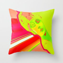 lady brite Throw Pillow