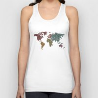 paisley Tank Tops featuring Paisley World by Valentina Harper
