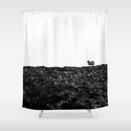 The Only One | Slieve League Shower Curtain