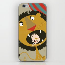 Lion Tamer iPhone Skin