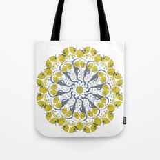 Lemon Wheel Tote Bag