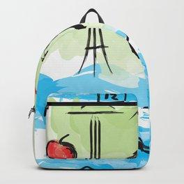 City scape - Seattle, Washington Backpack