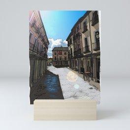 Calle Mayor (color) Mini Art Print