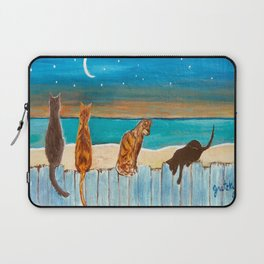 Cats on a Fence Laptop Sleeve
