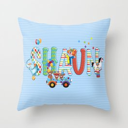 Shaun / Personalised Children's  Name Throw Pillow