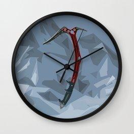 Lara's Climbing Axe Wall Clock