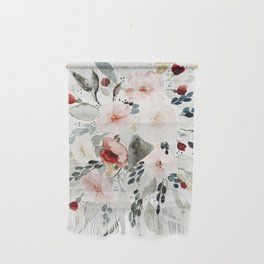 Loose Watercolor Bouquet Wall Hanging