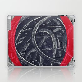 Junction- red graphic Laptop & iPad Skin
