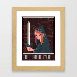 Light of Hyrule Framed Art Print