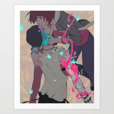 Rewind Art Print