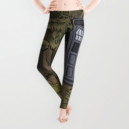 Escape from the Dark Forest Leggings
