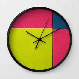 Color Square Wall Clock