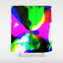 Melting Color Shower Curtain