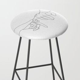 Pinky Swear Bar Stool