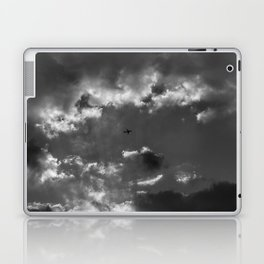 Plane and storm Laptop & iPad Skin