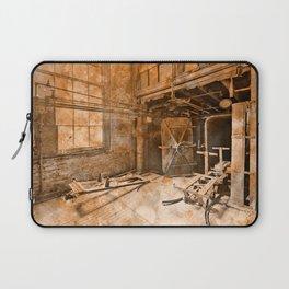 Vintage Acrylic Silk Mill Laptop Sleeve