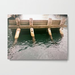 Sydney Ferry Barrier Metal Print