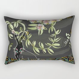 The love of gardening Rectangular Pillow