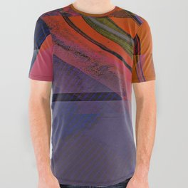 Color Wave ~053~ All Over Graphic Tee