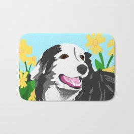 Happy Dog - Sophie the Border Collie Bath Mat